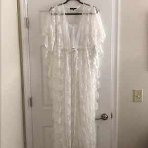 Lulu's Tops - BNWT Lulu's Lace Kimono and FP Brami